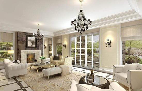 欧式客厅装修异国风情的家好喜欢