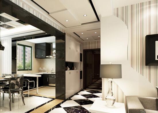 现代简约黑白风格4大家居空间的装修设计